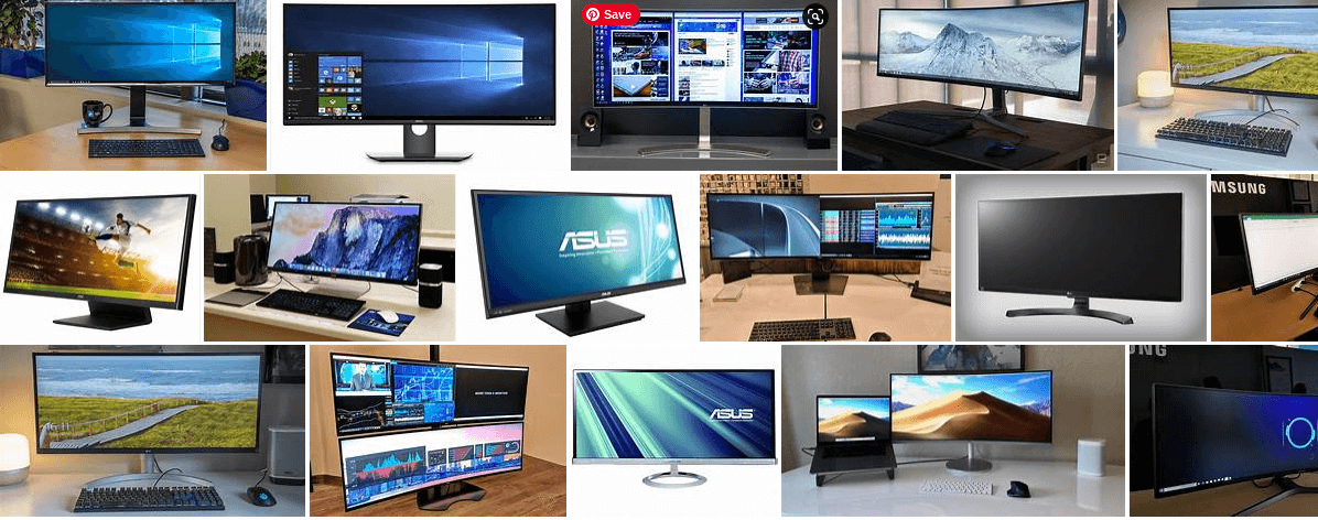aforementioned ultra-wide monitors