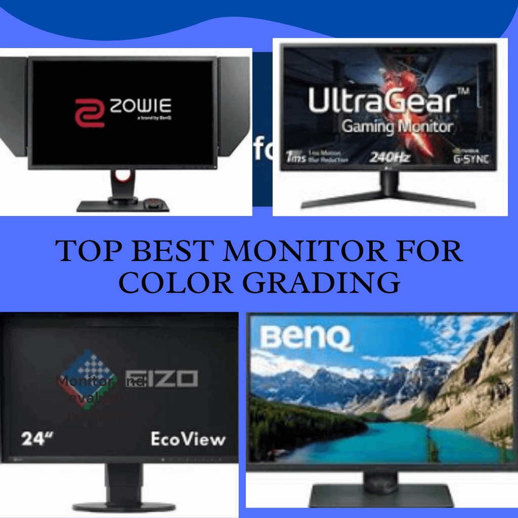 Top Best Monitor For Color Grading